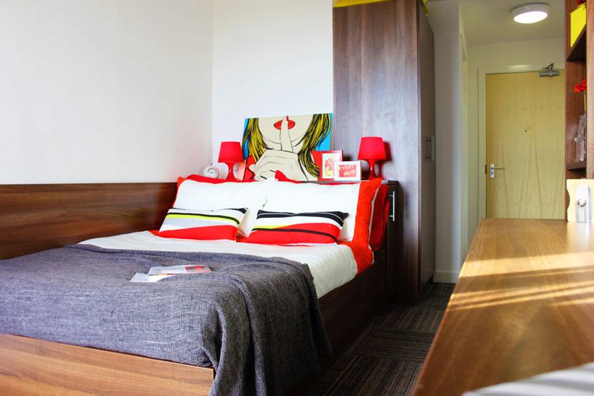 Example bedroom at Denmark Road