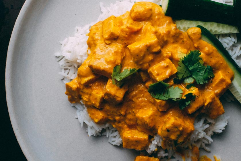 A curry dish