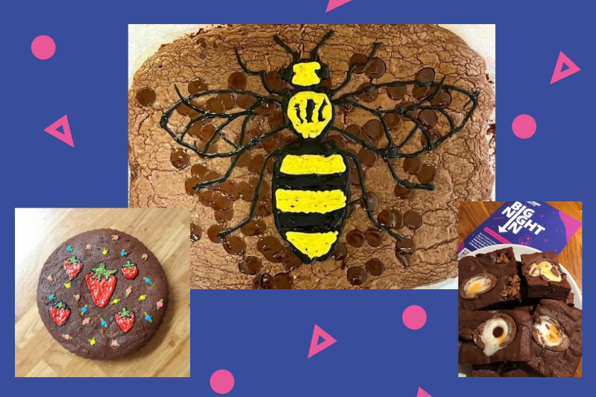 More yummy brownies created by students who took part in the Bight Night In campaign