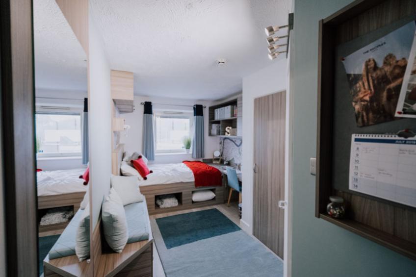 Manna Ash refurbished bedroom