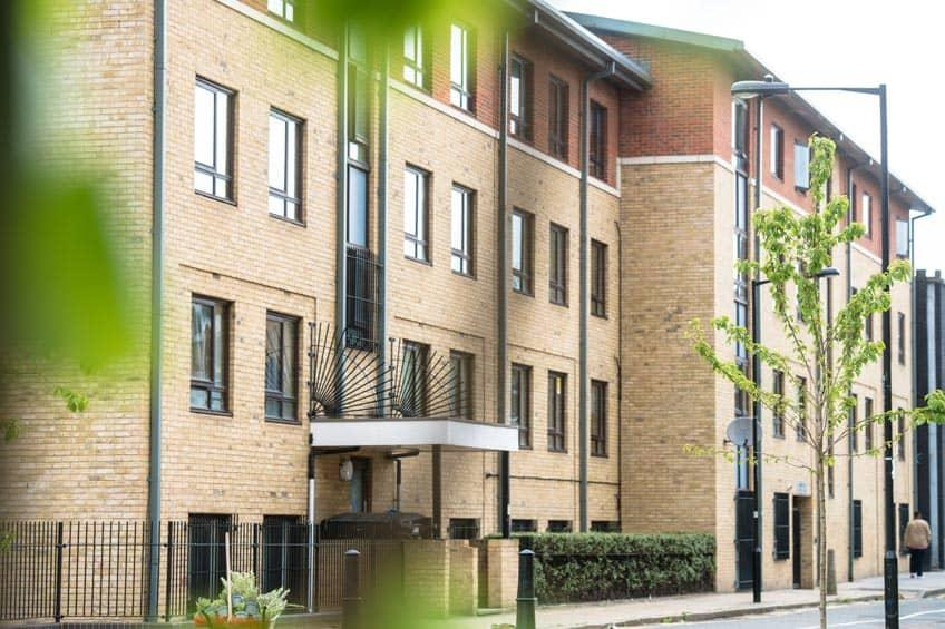 Coopers Court student accommodation.