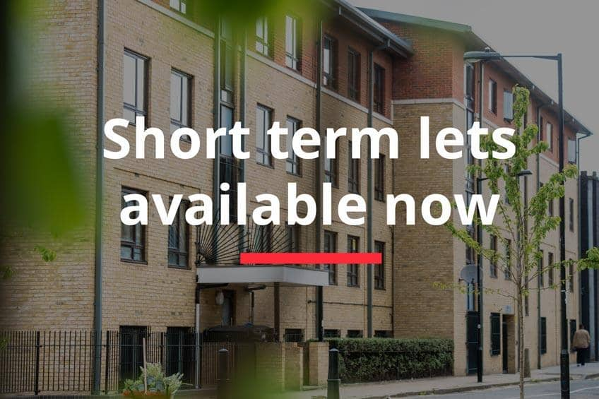 Exterior thumbnail of Coopers Court, London with short term lets available now