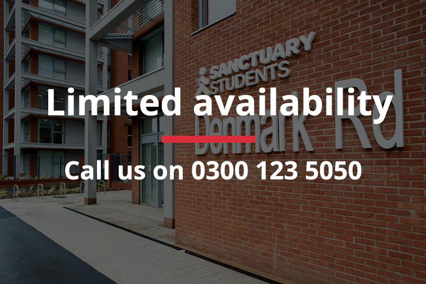 Limited availability at Denmark Road - Call us on 0300 123 5050