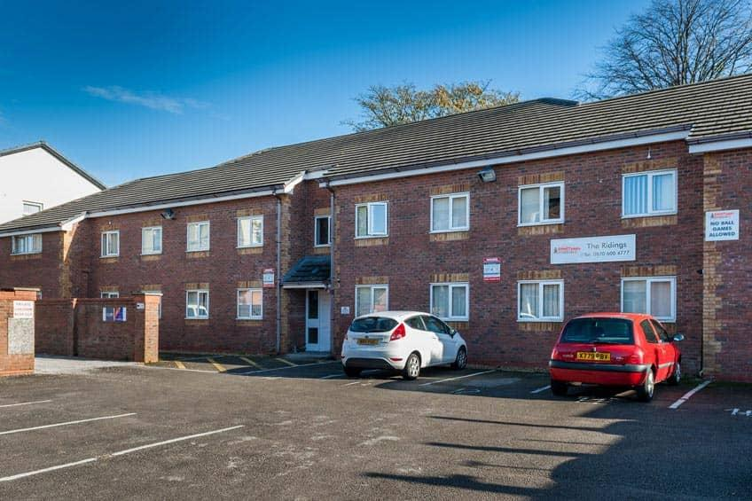 Grange Court & The Ridings offers student accommodation in Ormskirk