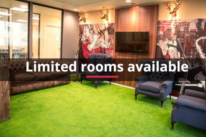Limited rooms available at Marybone 1