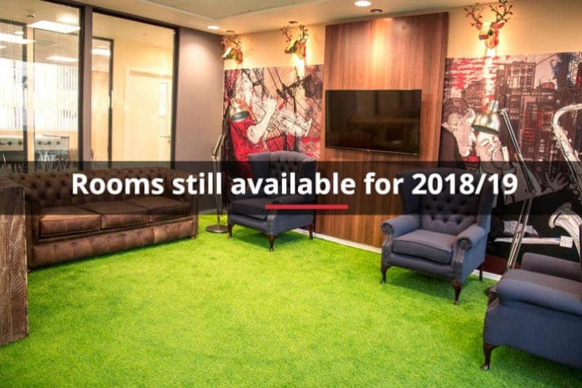Rooms still available for 2018/19 at Marybone 1