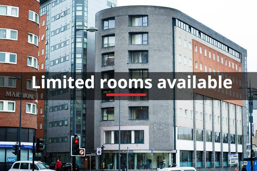 Limited rooms available at Marybone 2