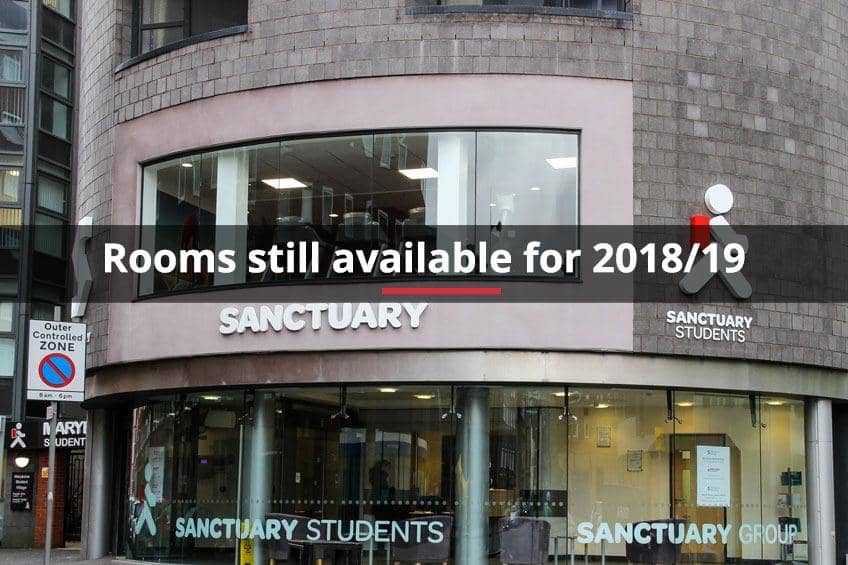 Rooms still available for 2018/19 at Marybone 3