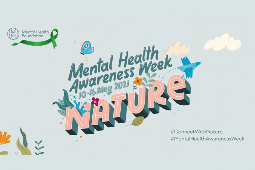 Mental Health Awareness Week 2021 Connect with Nature logo