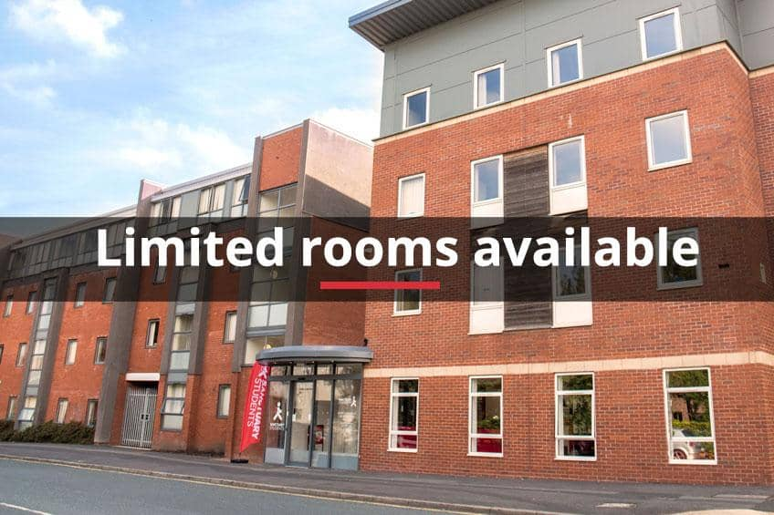 Limited rooms available at Moor Lane Halls