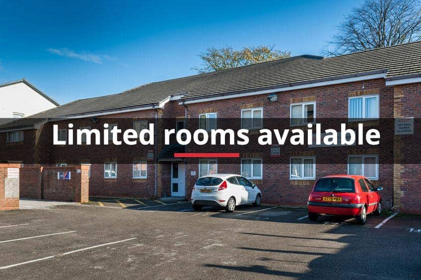 Limited rooms available at Grange Court & The Ridings