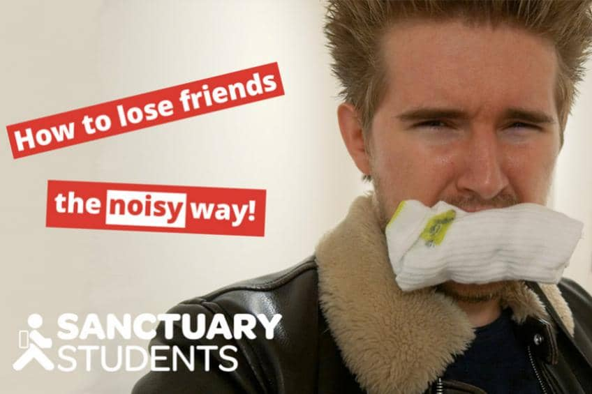 A picture of How to lose friends at uni…when you're the 'noisy one'