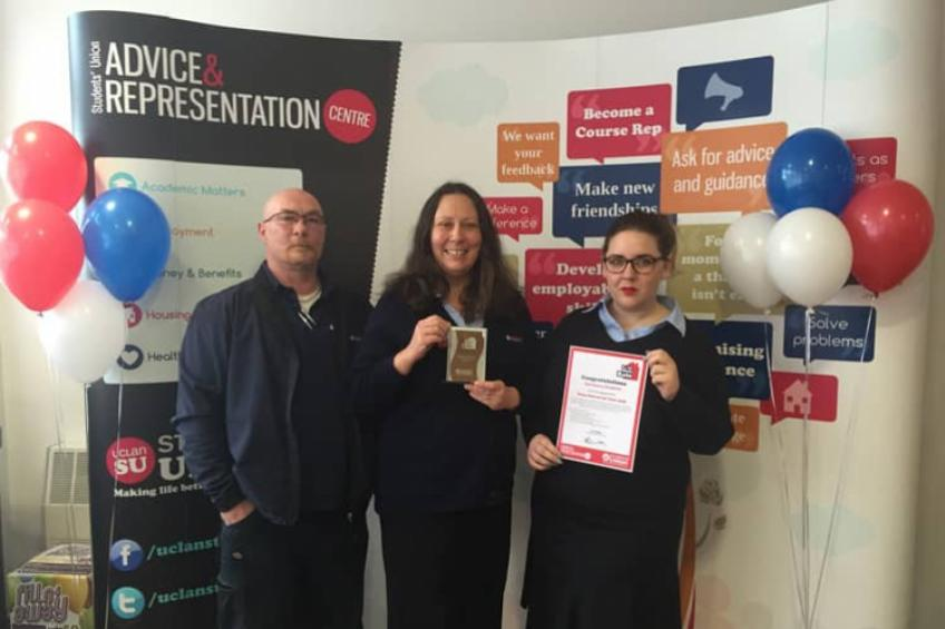 A picture of Sanctuary Students in Preston scoops good value award