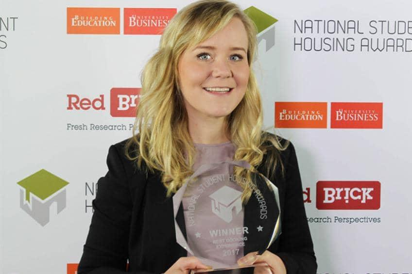 Sanctuary Students has won Best Booking Experience at the National Student Housing Awards.