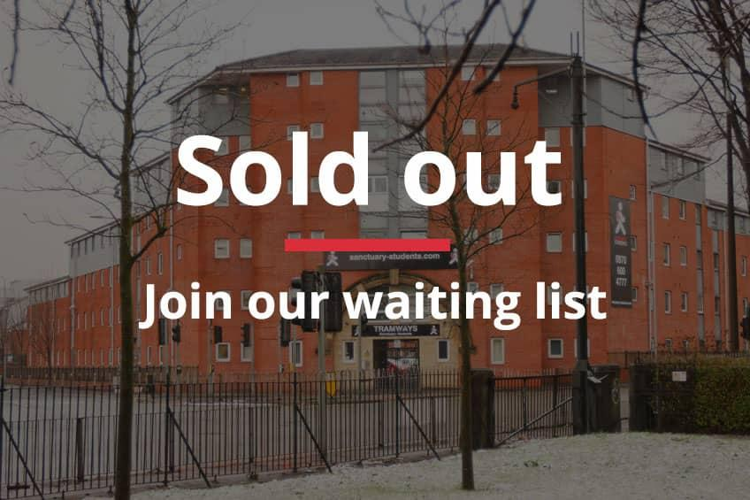 Join our waiting list for Tramways, Salford.