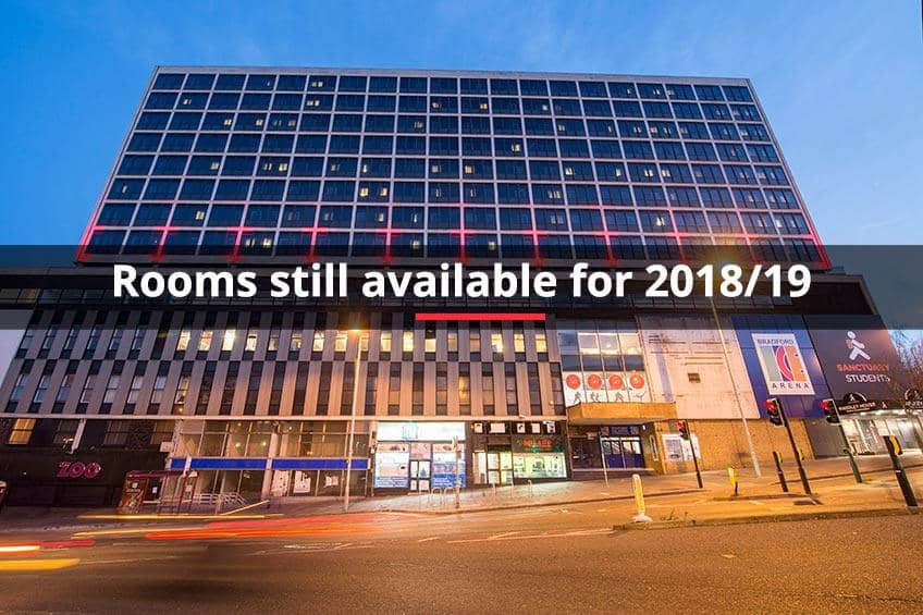 Rooms still available for 2018/19 at Wardley House