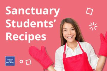 A picture of Sanctuary Students' recipes
