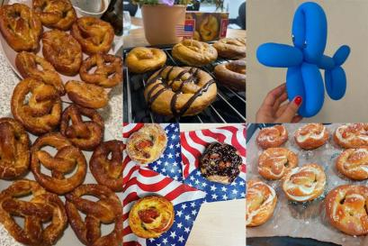 A picture of Big Night In #5 – Tying the knot for National Pretzel Day