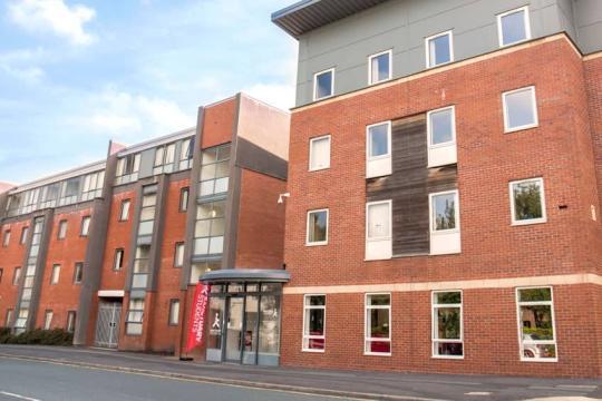 A picture of Moor Lane Halls, Preston