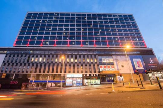 A picture of Wardley House, Bradford