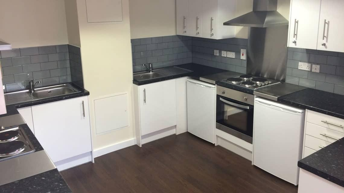 New kitchen at Alliance House from October 2016