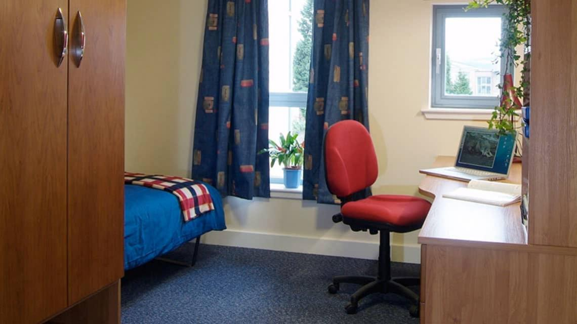 example single bedroom at Belmont and Heathfield Flats