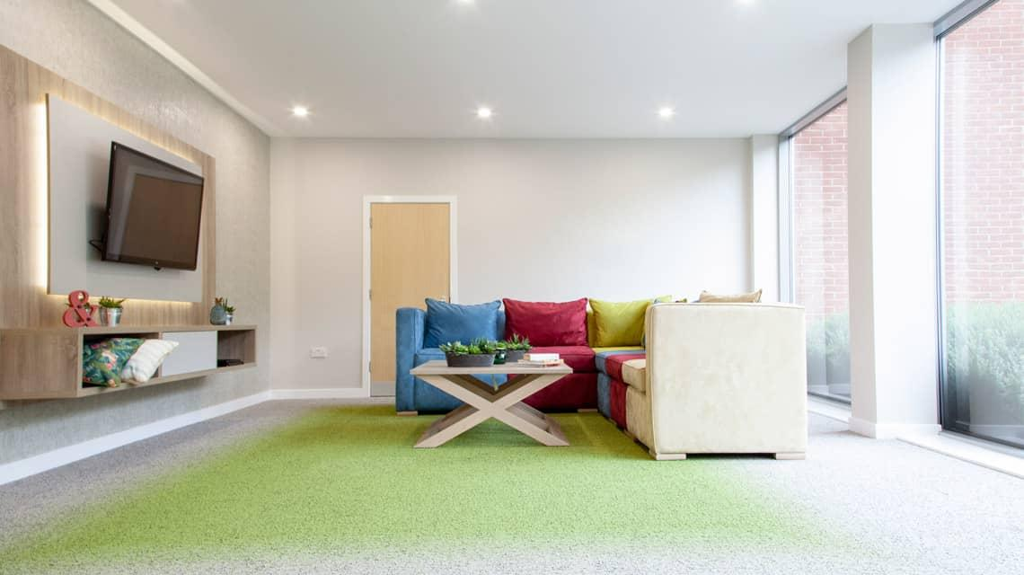 New common room at Denmark Road