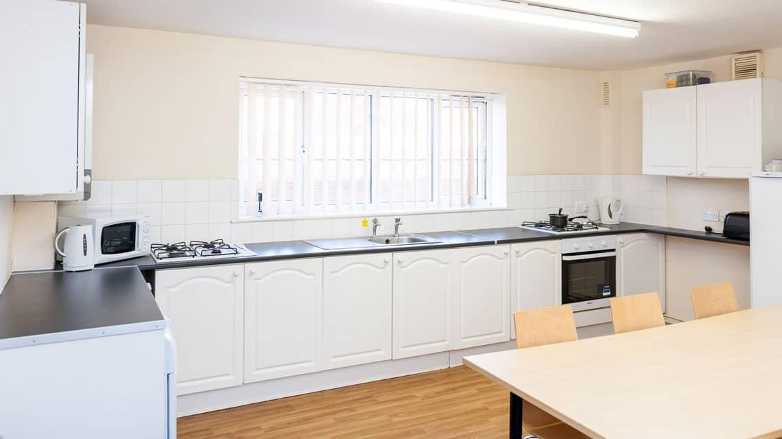 typical kitchen at Grange Court & the Ridings