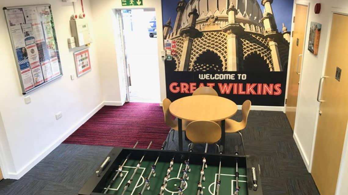 Great Wilkins Halls common area