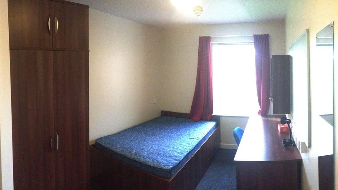 example bedroom at Great Wilkins Halls