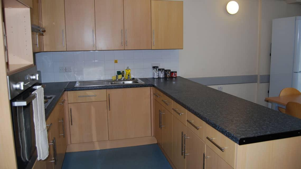 example kitchen at Kelvinhaugh Gate