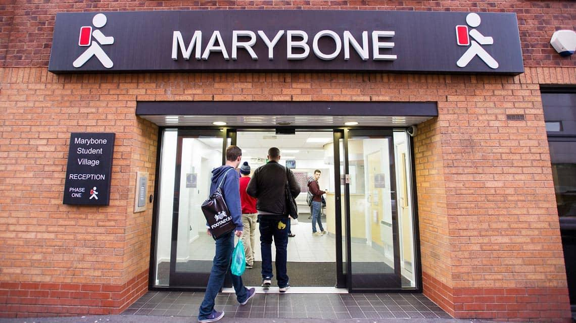 entrance to Marybone 1