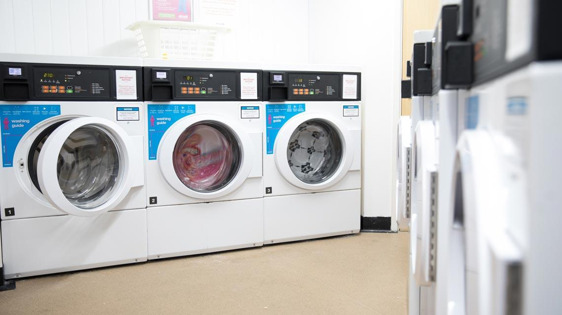 Example laundry room from Marybone Student Village