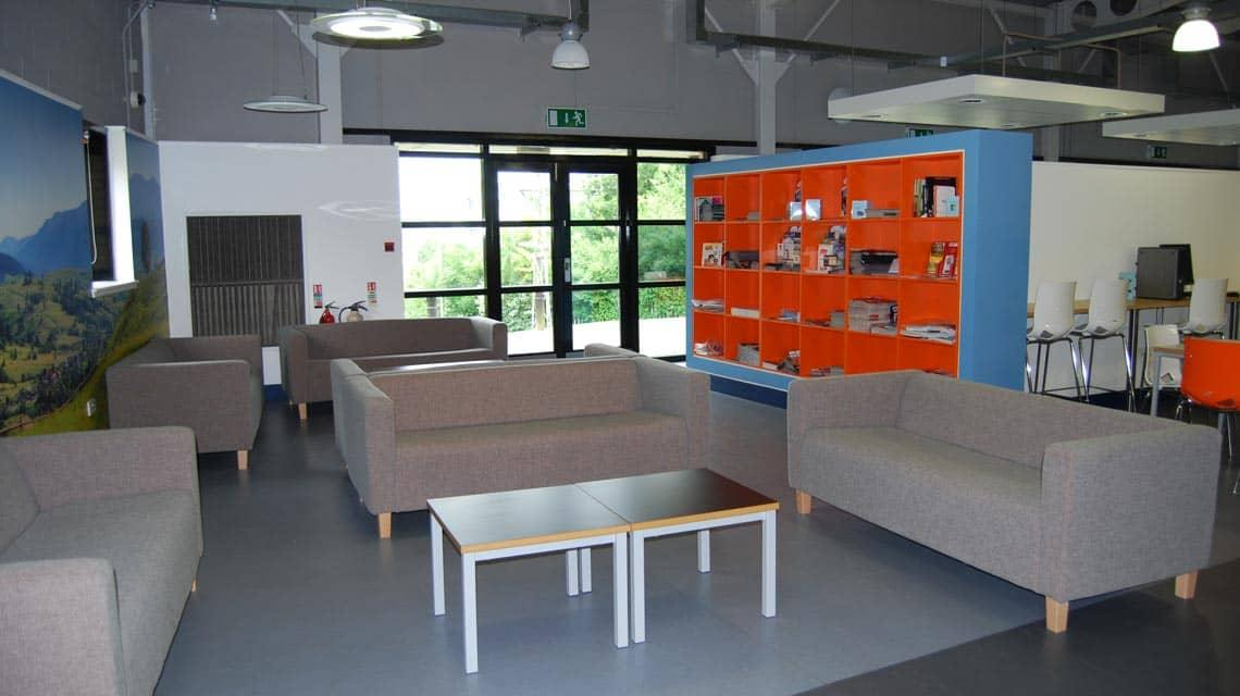 Murano Street Student Village shared common room