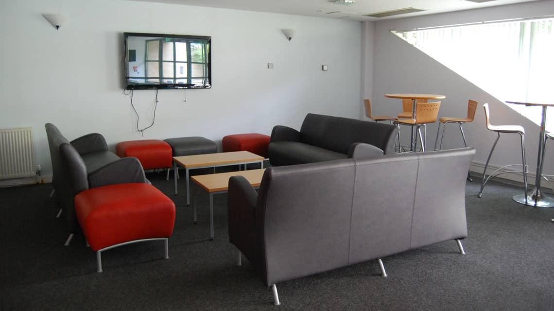 Queen Margaret Residences shared lounge area