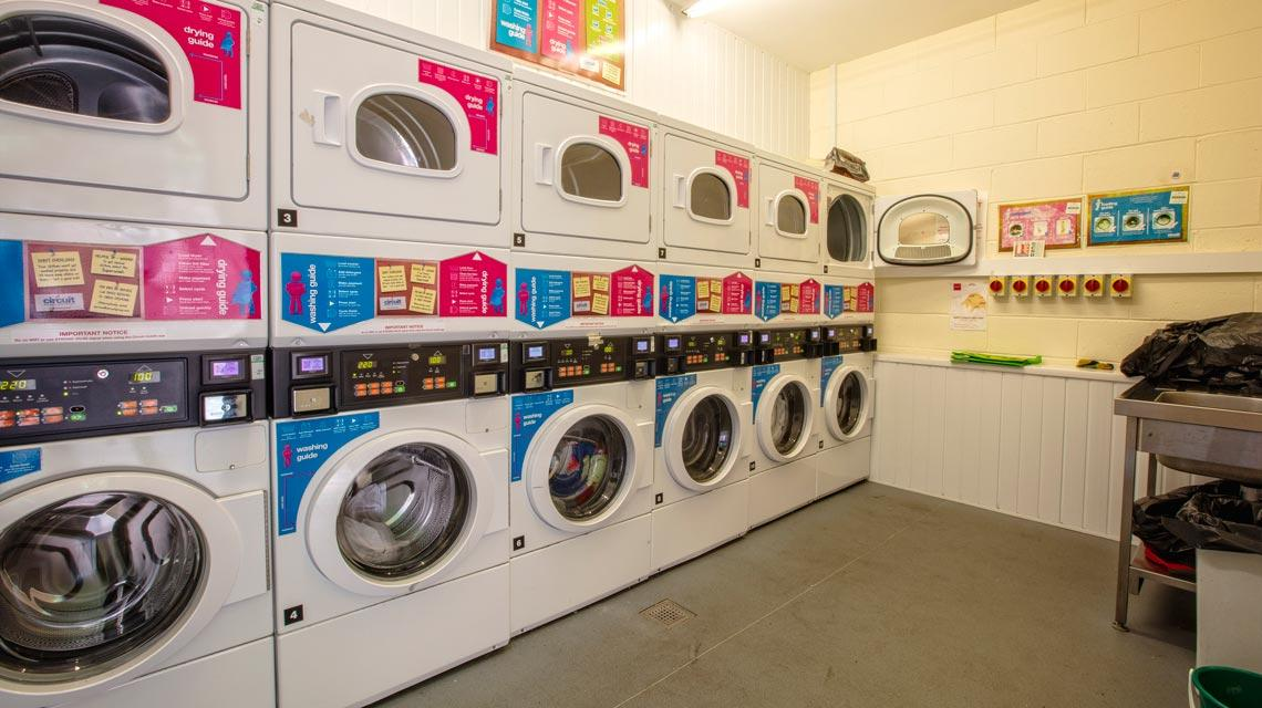 Laundry room at Seabraes Flats 1 in Dundee