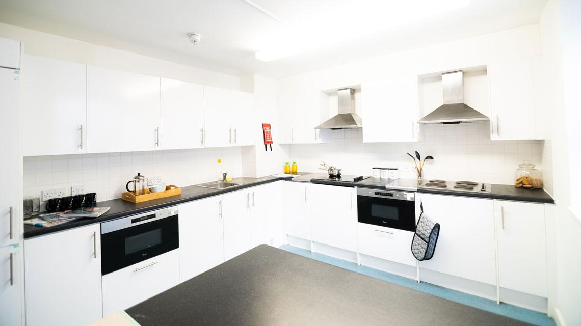 Example shared kitchen at The Craft Building