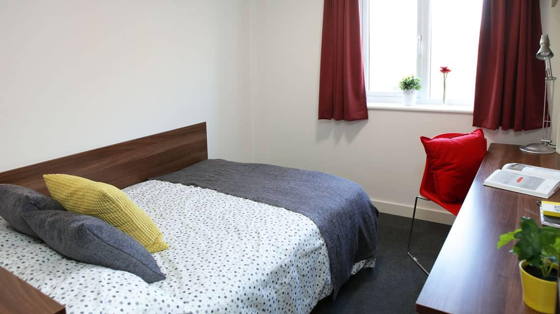 Double bedroom at Walker Street, Preston