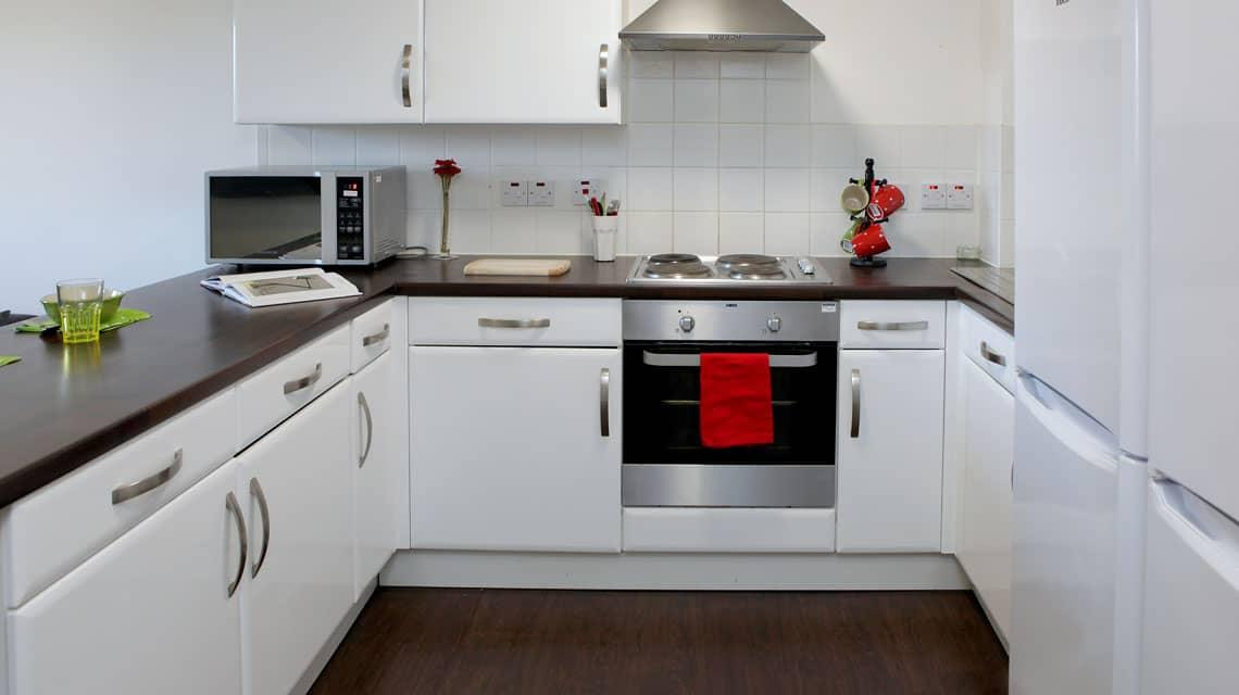 example shared kitchen in Walker Street