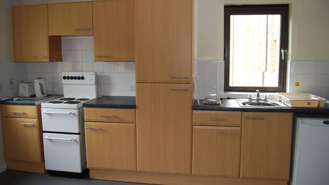 example kitchen at Winton Drive