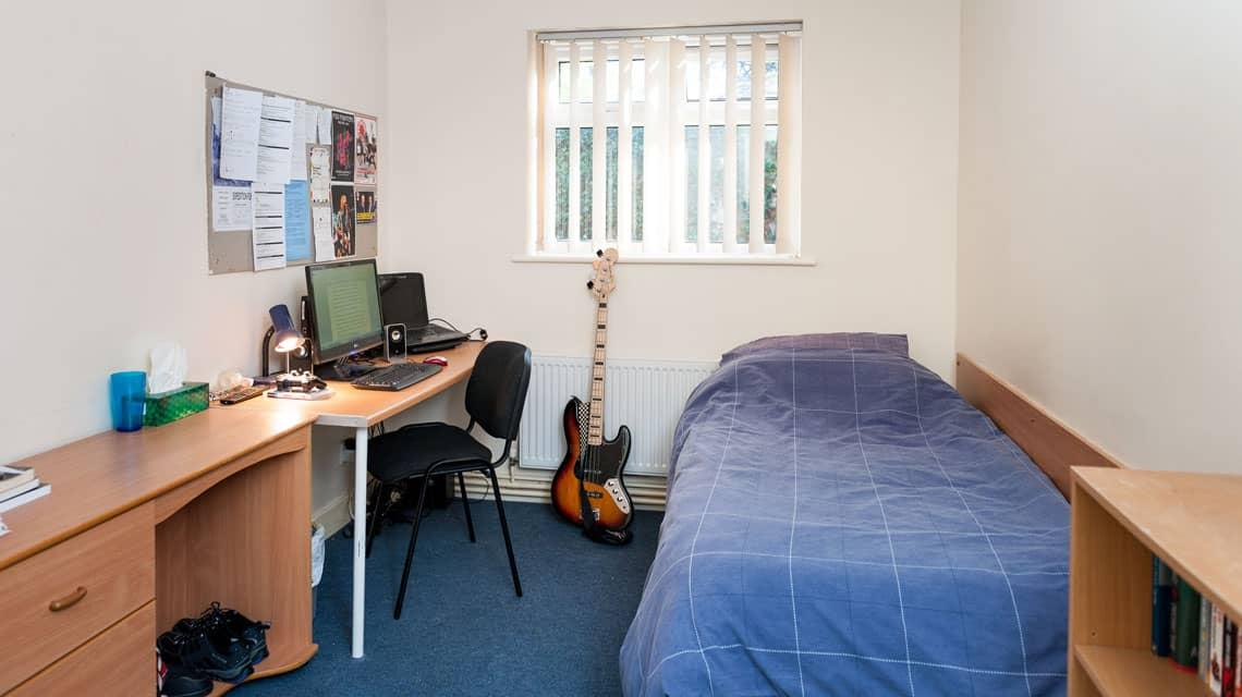 example bedroom at Grange Court and the Ridings