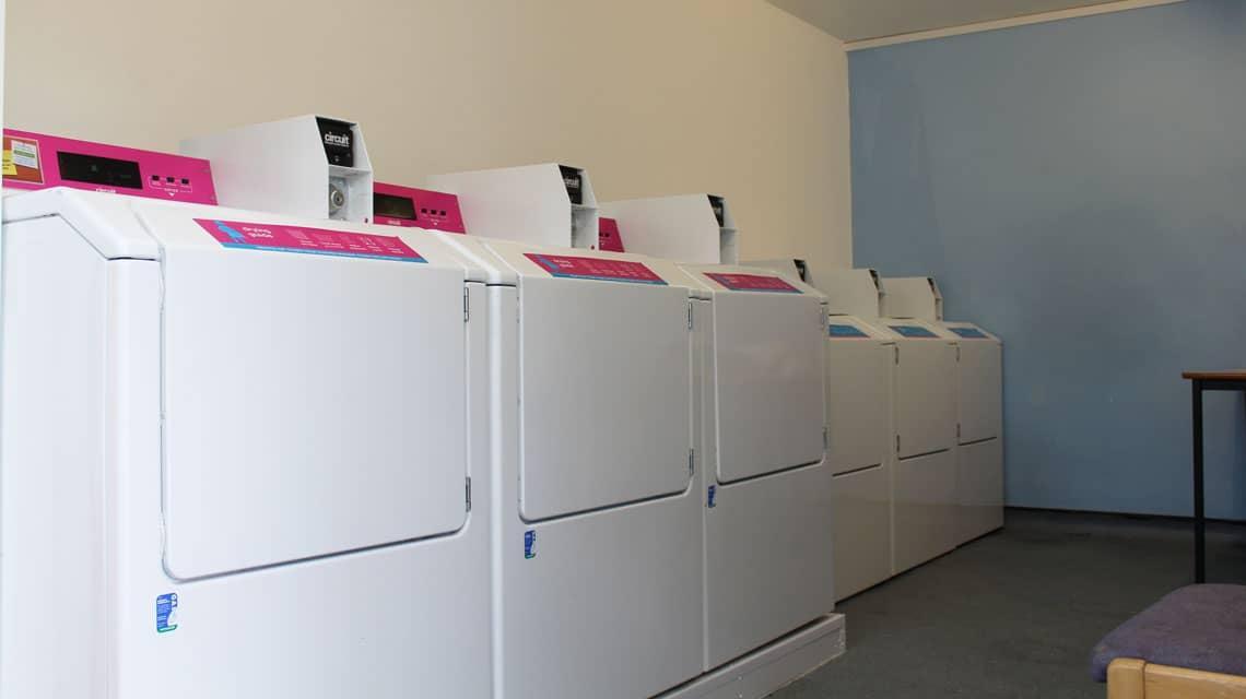 Henry Scott Tuke House laundry room