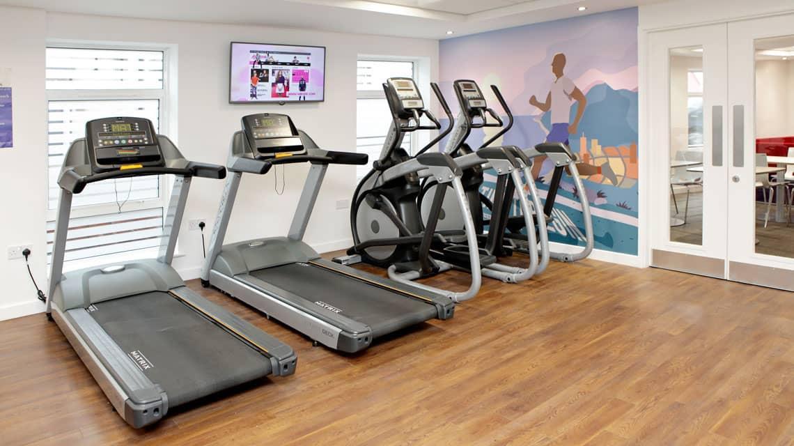 Moor Lane Halls gym