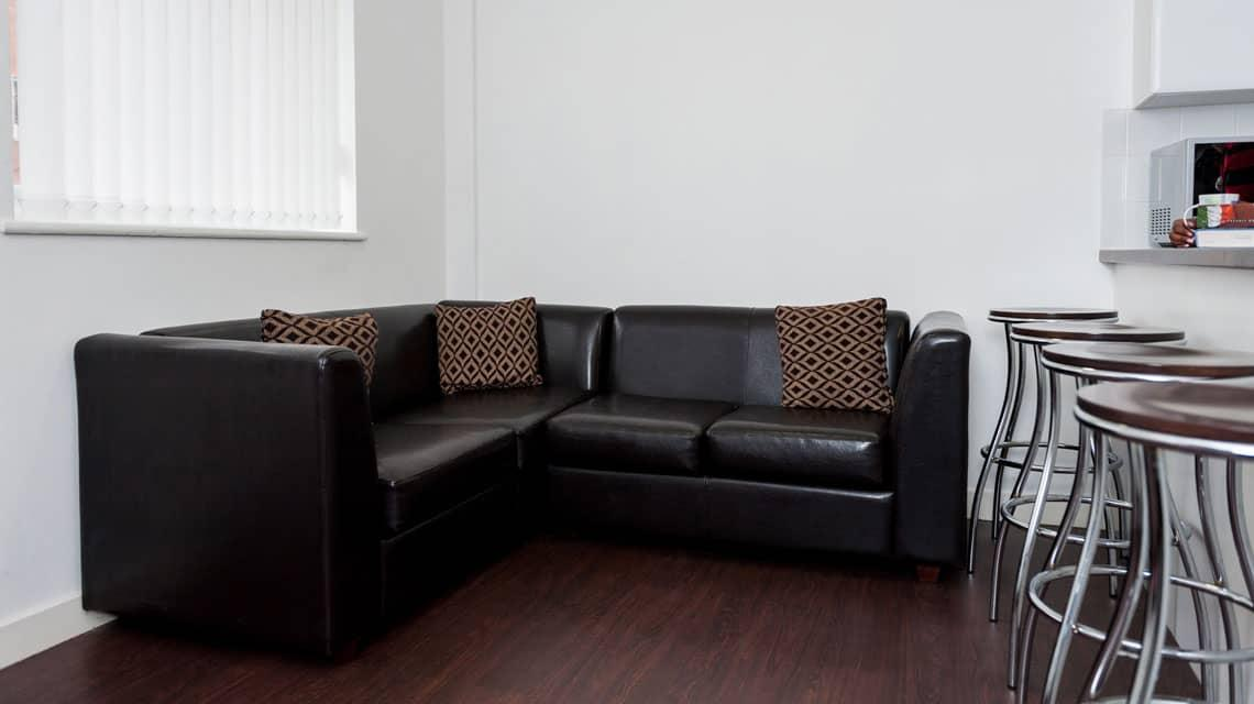 Typical shared lounge area in Walker Street