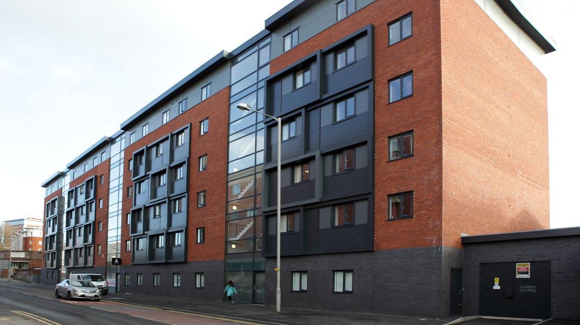 Front exterior of Walker Street, Preston