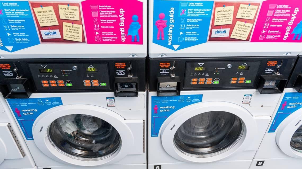 laundry room at Wardley House, Bradford
