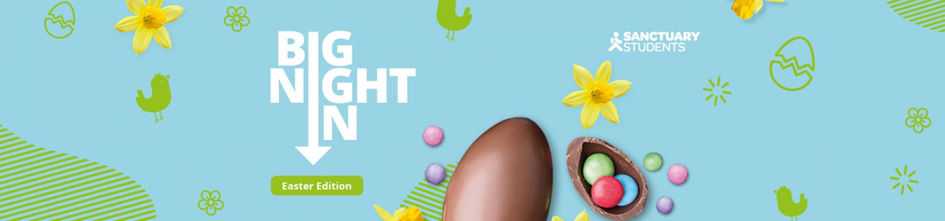 Big Night In Round 4 - Easter edition website teaser