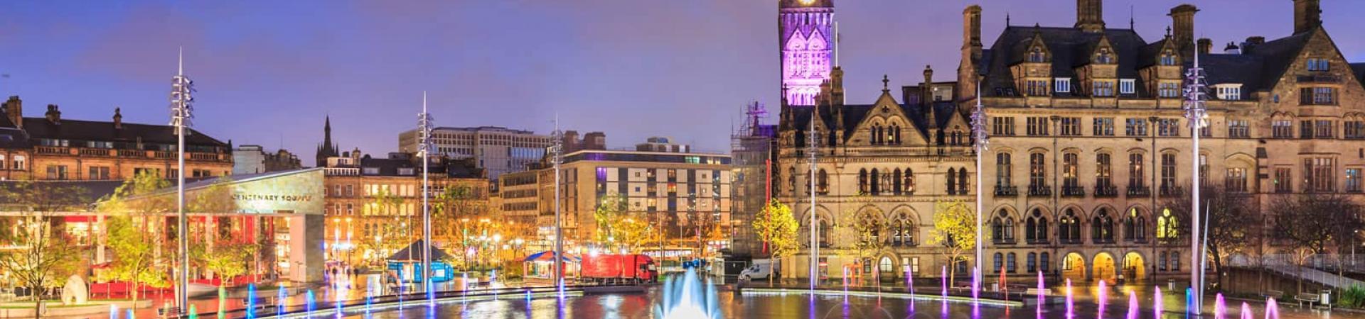 Main banner image of Bradford city centre