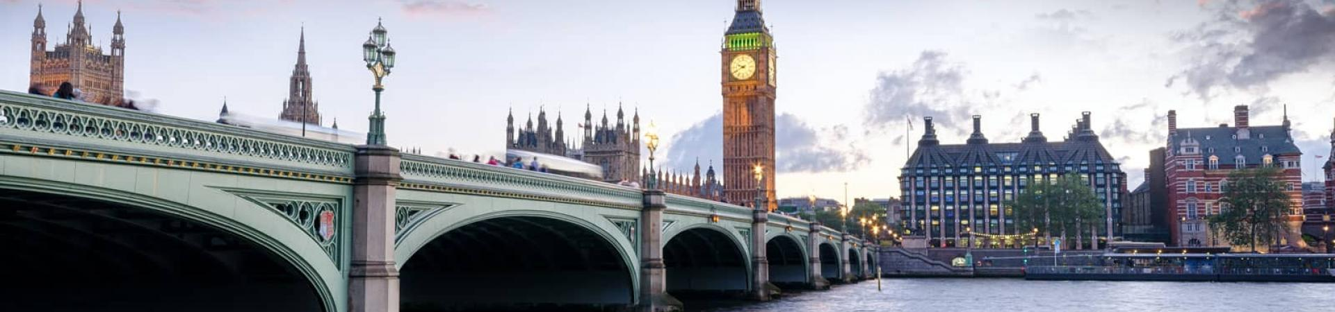 A banner image of Big Ben in London to represent The Craft Building