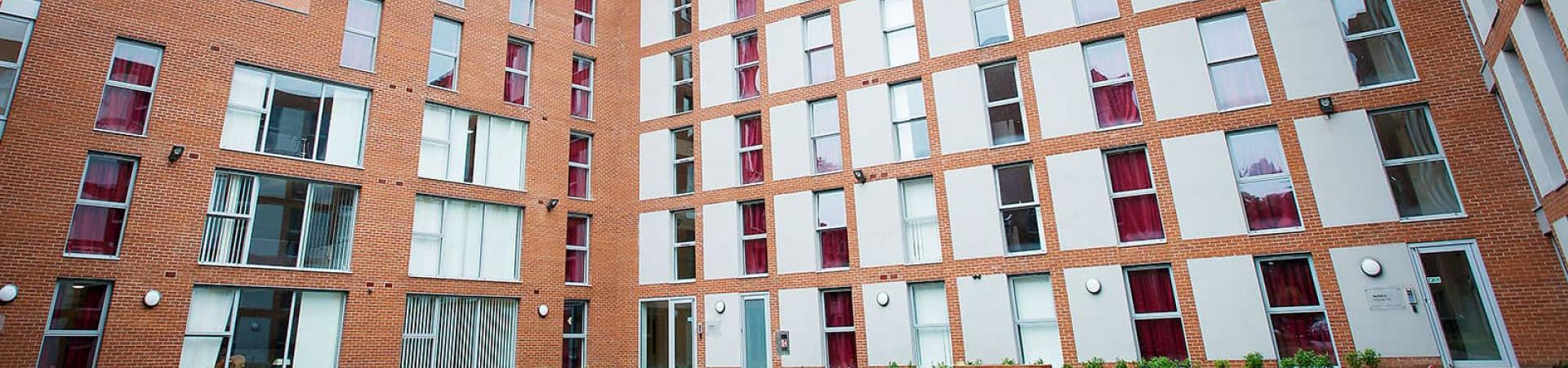 Denmark Road student accommodation, Manchester.